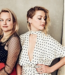 Elisabeth Moss and Amber Heard Photoshoots