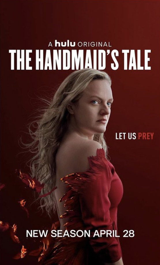 Elisabeth Moss in the First Poster of Season 4 of The Handmaids Tale