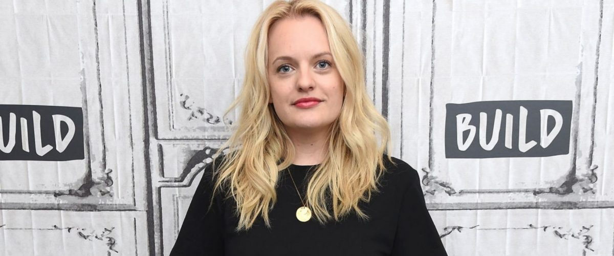 Elisabeth Moss visits Build Series (Photos + Video)